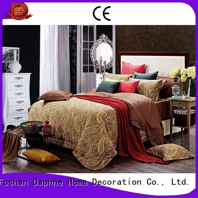 Daphne brushed Cotton Bedding Sets colored peony