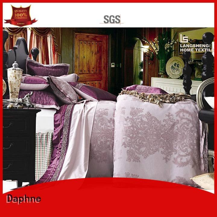 jacquard duvet cover king noble Jacquard Bedding Set mixed Daphne