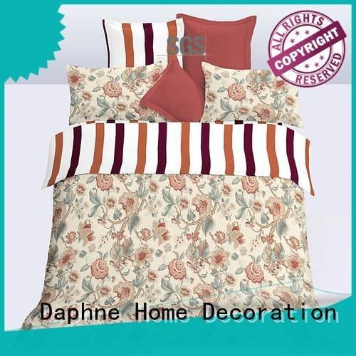 Daphne print duvet soft microfiber comforter microfibre