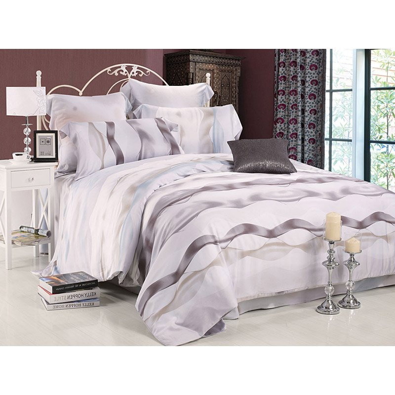 100% Modal Print Healthy Fabric Luxury Bed Linen TY-020