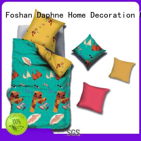Daphne Brand printed pure colorful target bedding sets girl