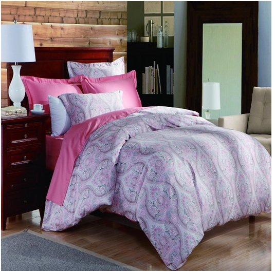 Pima Cotton  Printed  Comforter set 131072