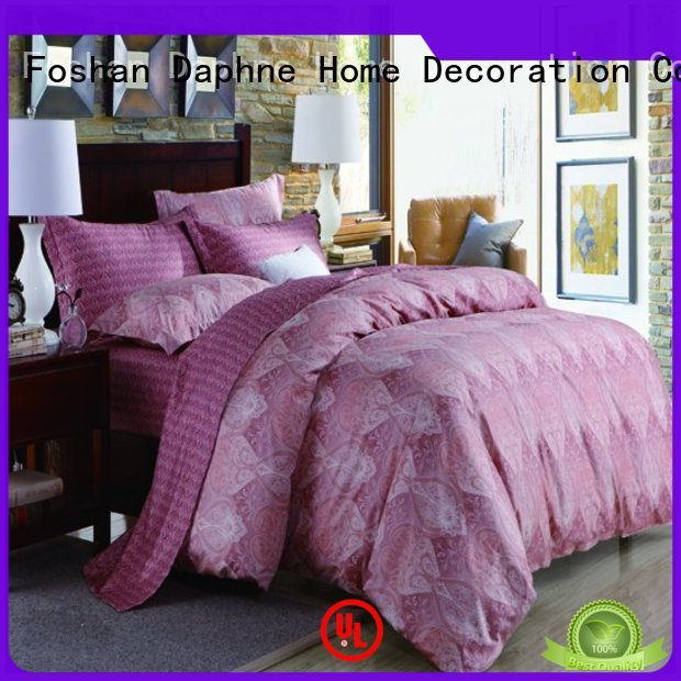 Daphne Brand sheet pattern printing Cotton Bedding Sets manufacture