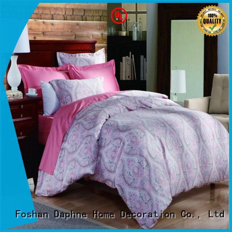 duvet Cotton Bedding Sets fashionable colored Daphne company