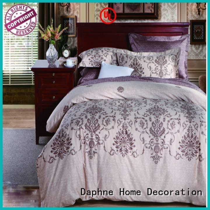 100 cotton bedding sets design longstaple Daphne Brand