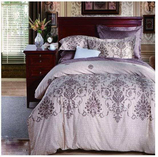 Cotton Reactive Print Linen Bedding #130903