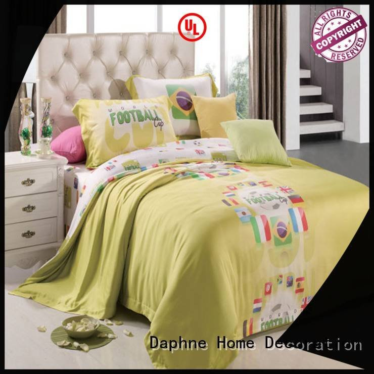 modal sheets ferns light OEM organic comforter Daphne