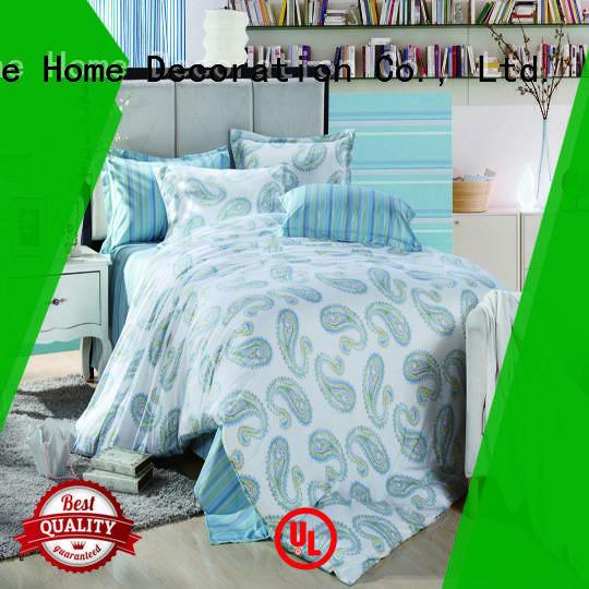 Daphne bedroom sheet organic comforter flower peach