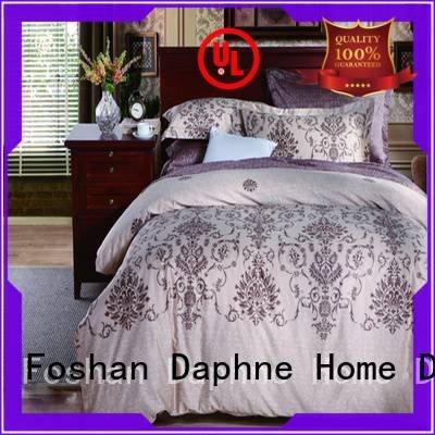 Custom Cotton Bedding Sets blossom embroidery soft Daphne