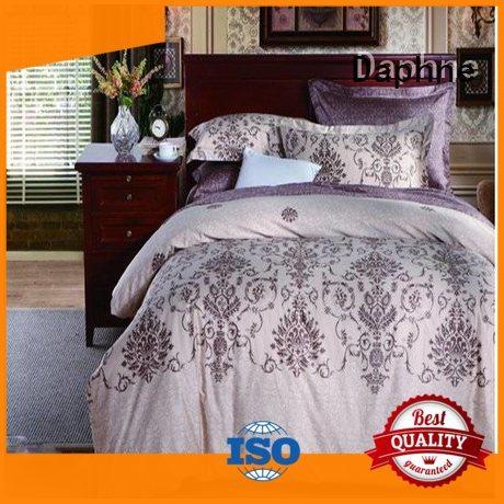 bedroom duvet bed 100 cotton bedding sets Daphne manufacture
