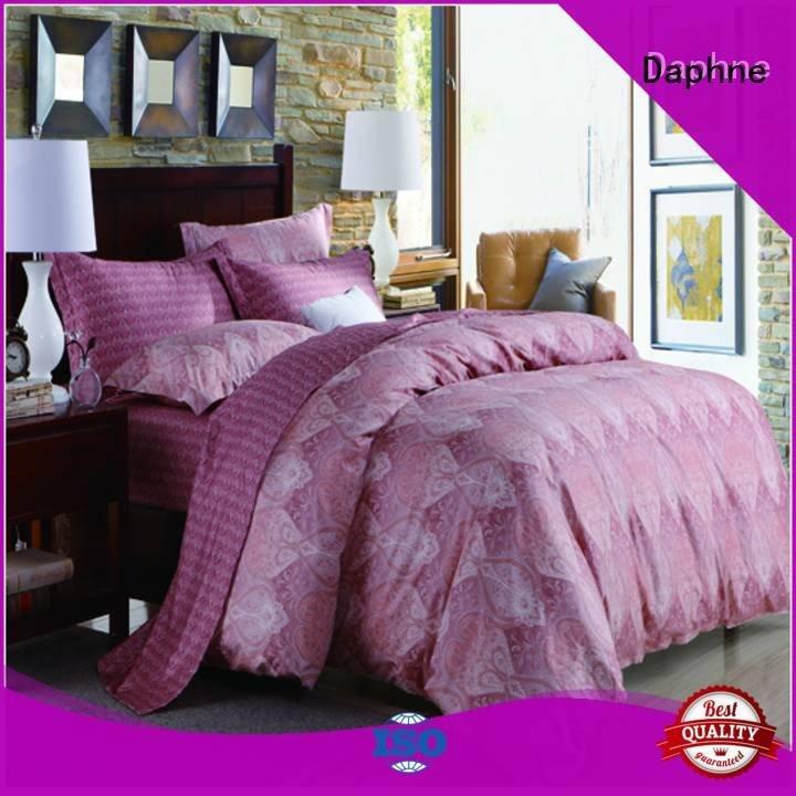 100 cotton bedding sets elegant Cotton Bedding Sets embroidery Daphne