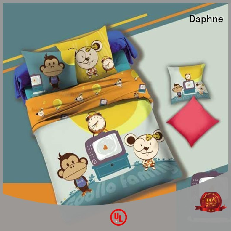 monkey print children OEM Kids Bedding Sets Daphne