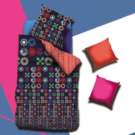 रंगीन और शीतल कपास बिस्तर # 130437 सेट