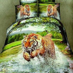Daphne Jacquard Silk & Cotton Duvet Cover Set 6875 Jacquard Bedding Set image2
