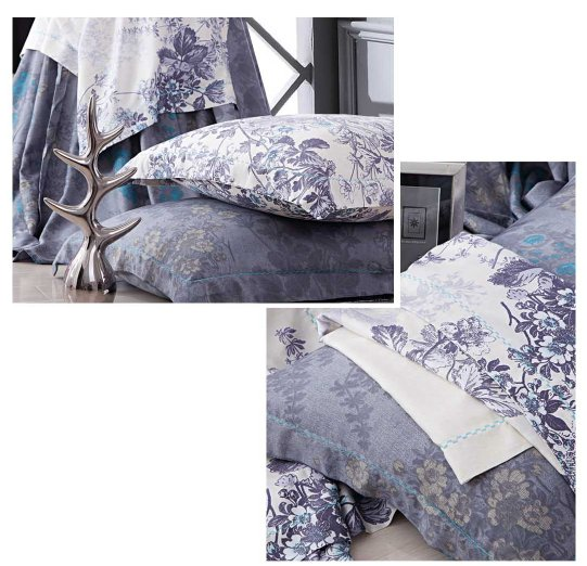 Daphne Elegant Print with 100%Bamboo sheet set #ZT-1109 Other Material Printed image75