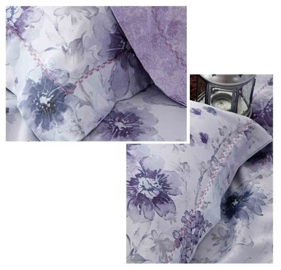 100% Bamboo Printed duvet cover set #ZT-1105