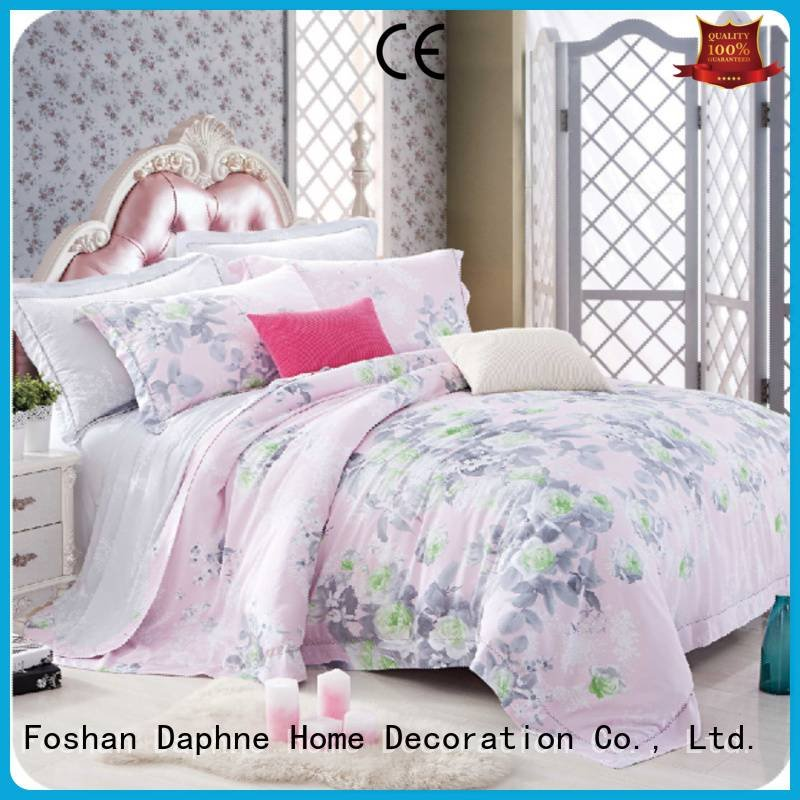 OEM queen size bamboo sheets linen print bamboo Bamboo Bedding Sets