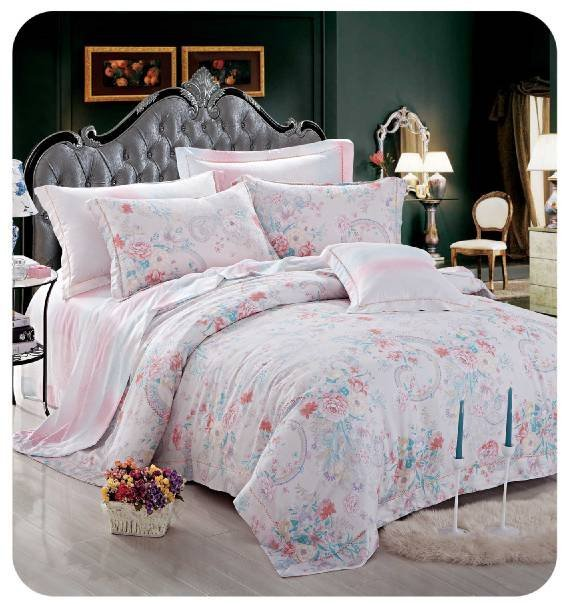 lovely&soft  duvet cover set in 100% bamboo #ZT-1106