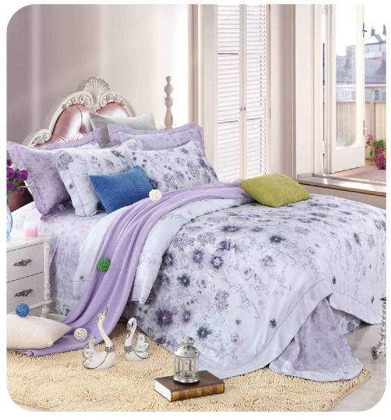 Daphne 100% Bamboo Printed duvet cover set #ZT-1105 Other Material Printed image79