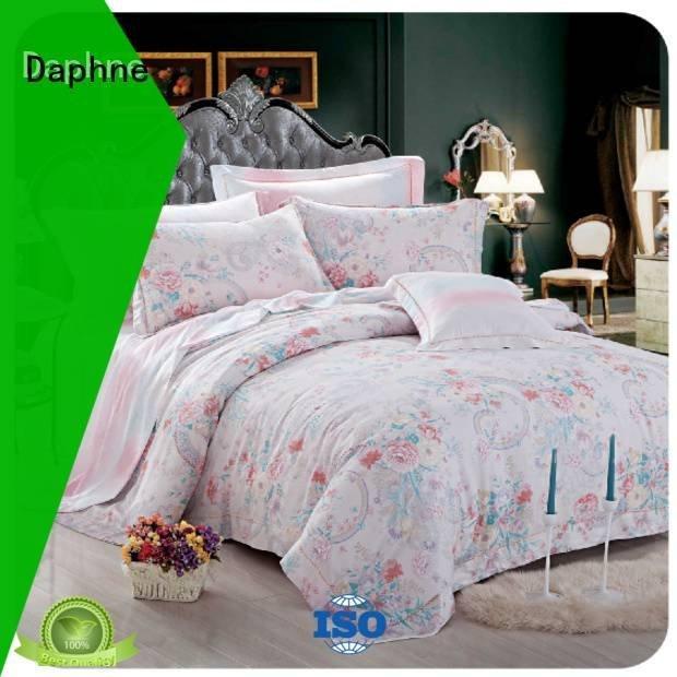 Daphne Brand soft sweet queen size bamboo sheets duvet natural