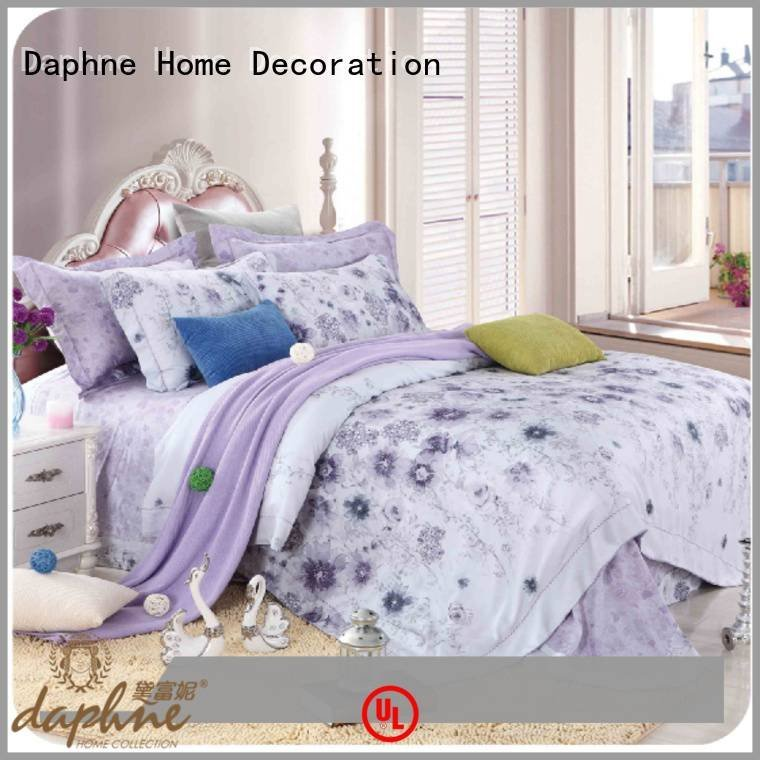 Daphne cotton bed cover queen size bamboo sheets print