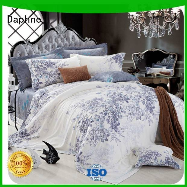 Daphne queen size bamboo sheets cotton sheet sweet elegant