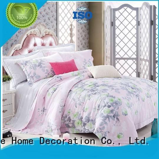 bedding natural Bamboo Bedding Sets printed Daphne