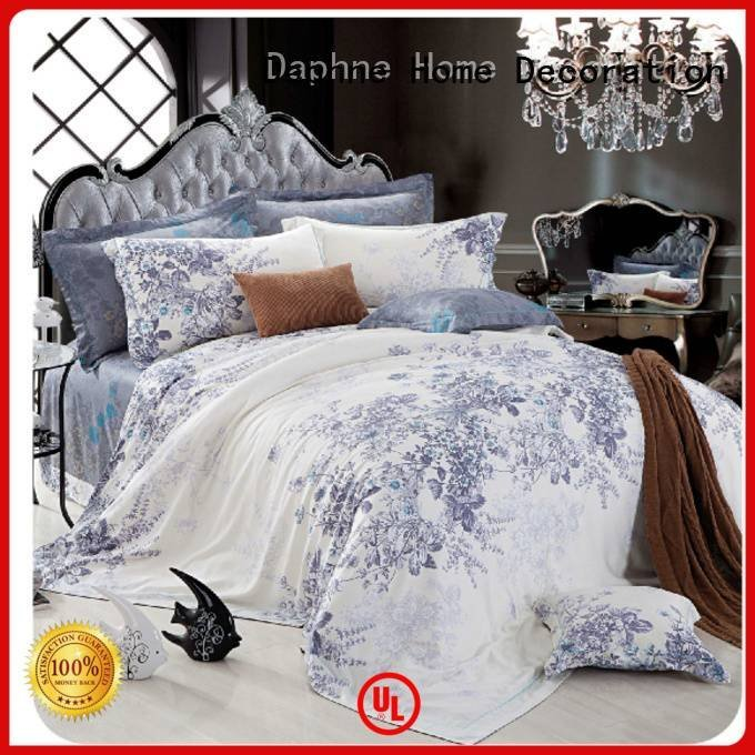 Daphne elegant bed Bamboo Bedding Sets duvet print