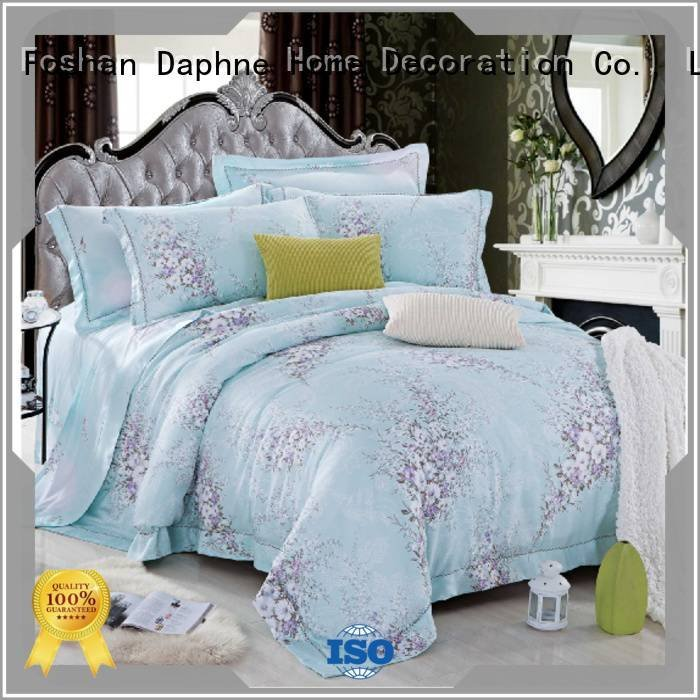 Daphne Brand natural elegant Bamboo Bedding Sets bamboo printed