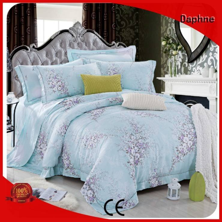 printed Daphne queen size bamboo sheets