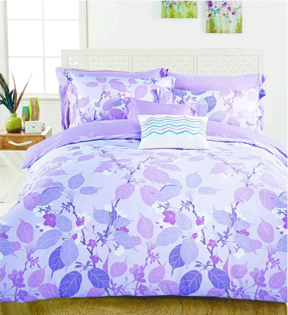 Vividly Printed Cotton Bedding Set   #160509