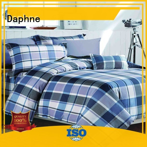 floral plaid Daphne Brand Cotton Bedding Sets