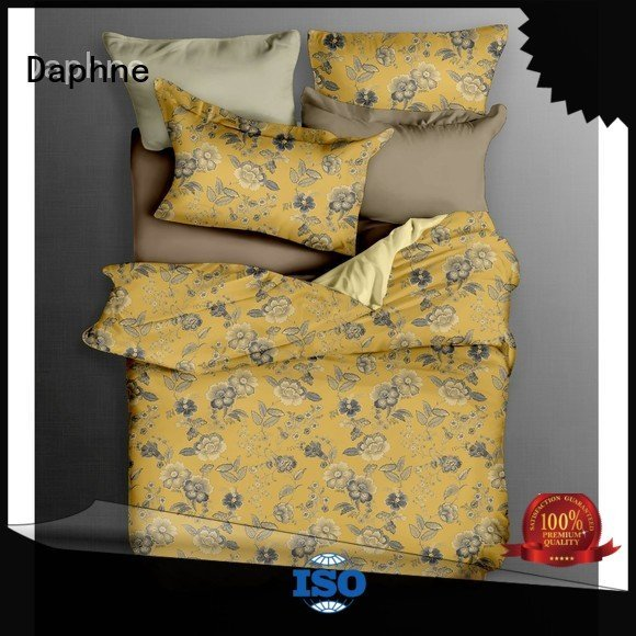 Daphne Brand brushed comfortable cover Cotton Bedding Sets quality