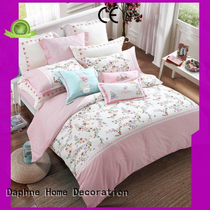 Daphne 100 cotton bedding sets cotton stylish lovely vividly