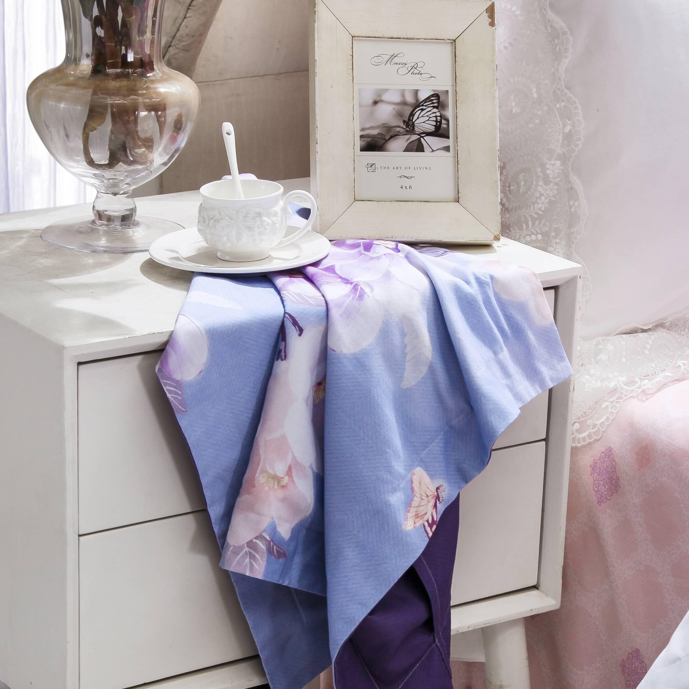 Floral Printed Brushed Cotton Bedding Set #6882