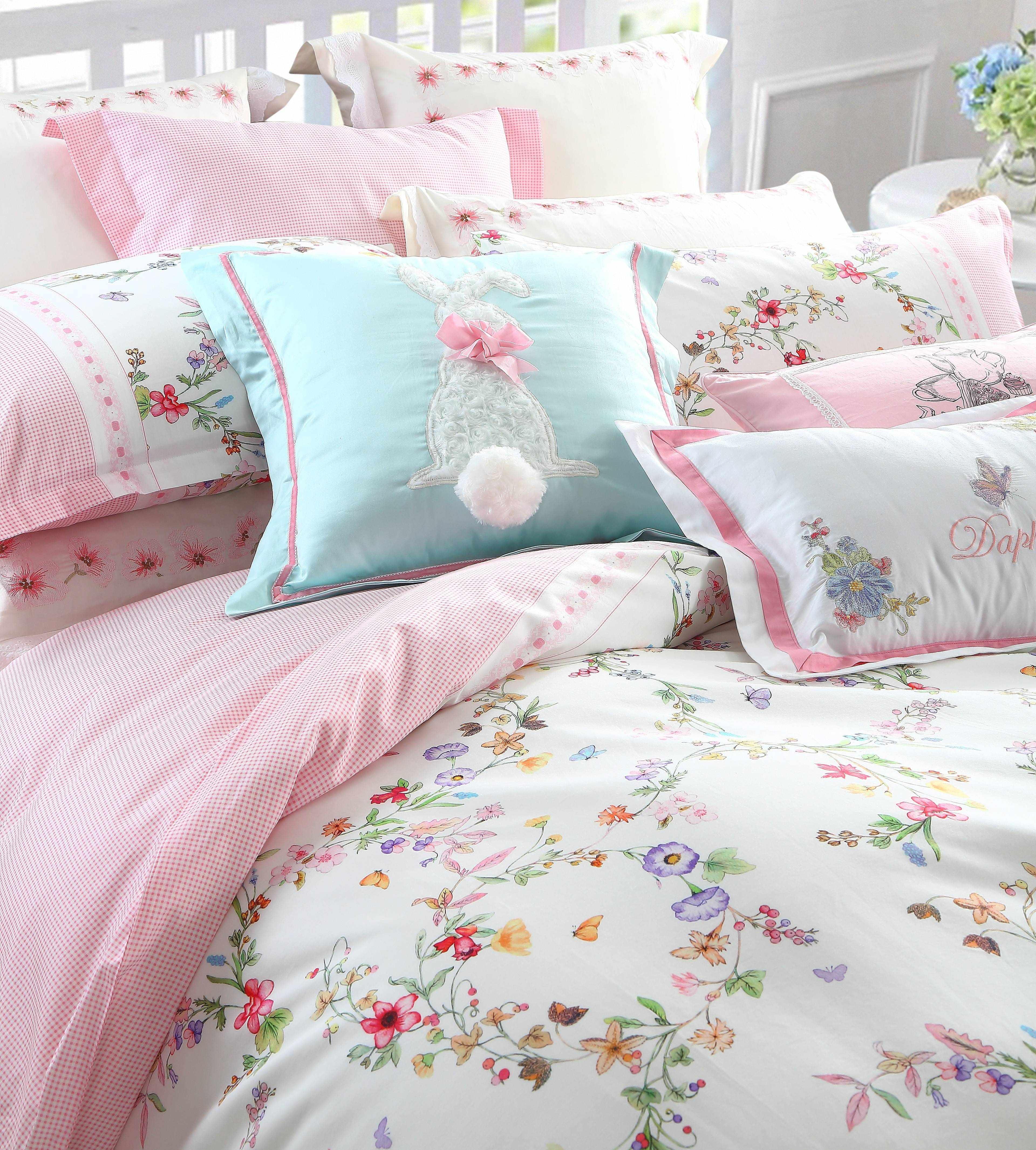 Daphne 100% Cotton Adorable Printed Bed linen #6885 100% Cotton Printed image30
