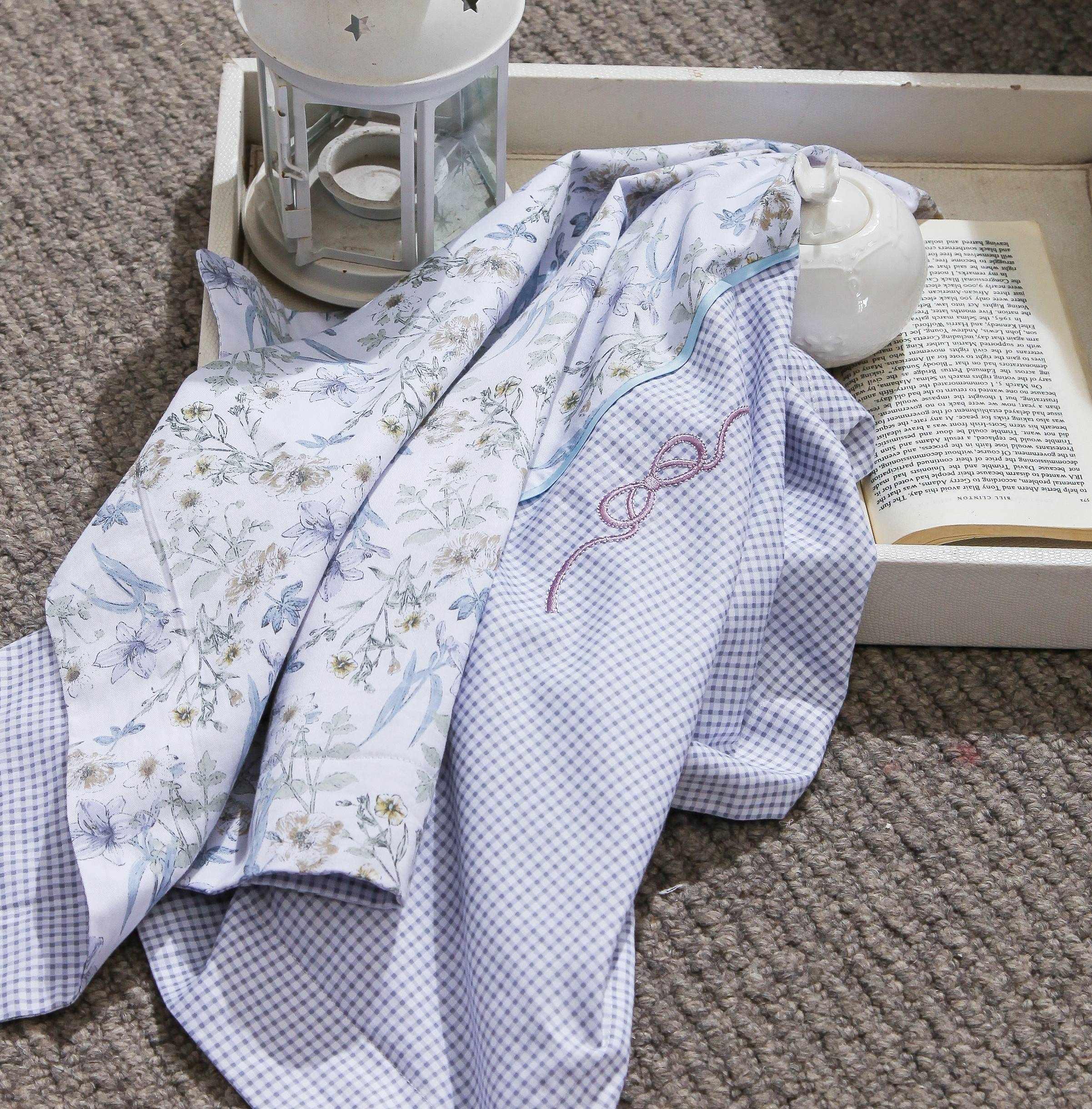 Floral Prints Cotton Duvet Cover 6880