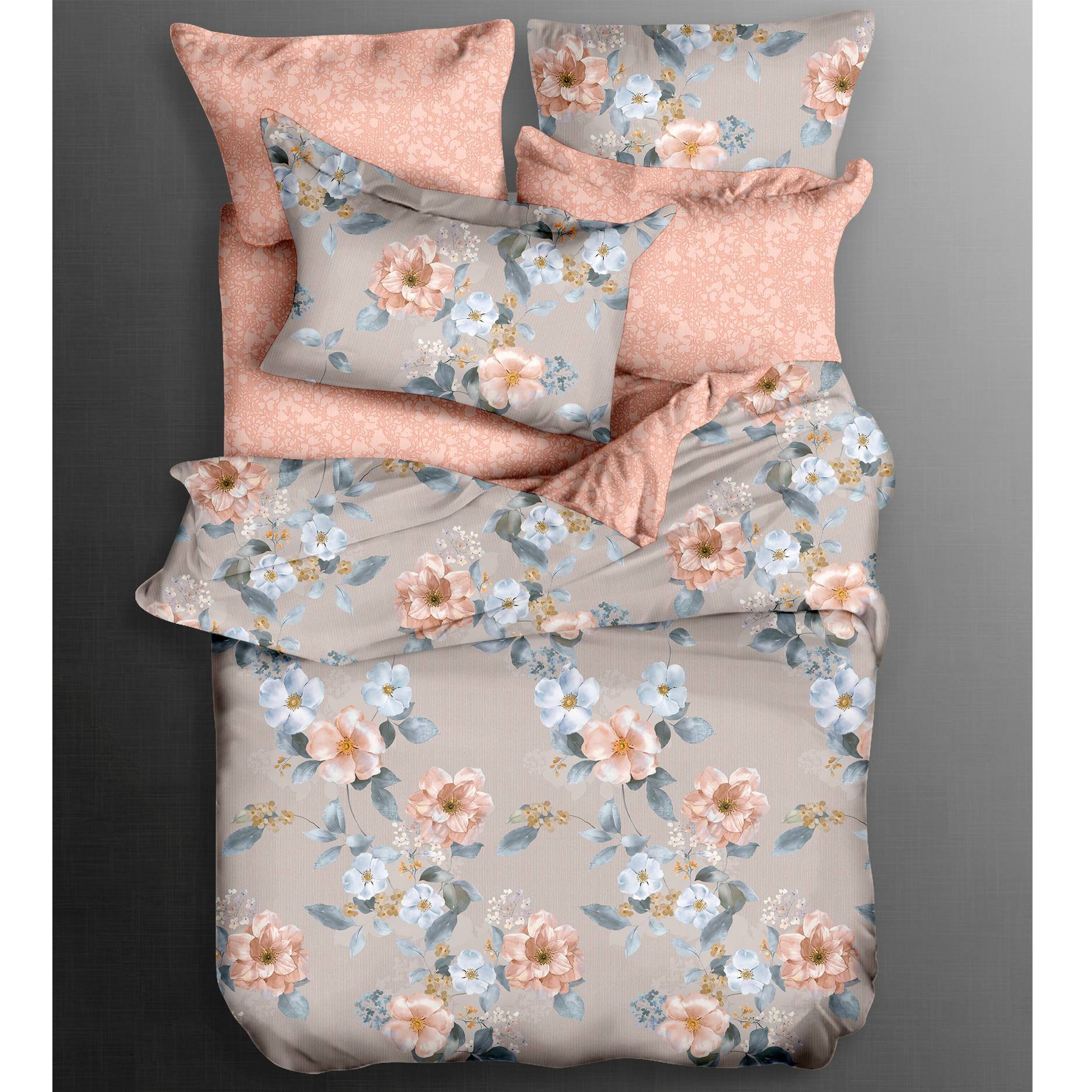 Daphne Pure Cotton Floral Patterns Sheet Set 100% Cotton Printed image6