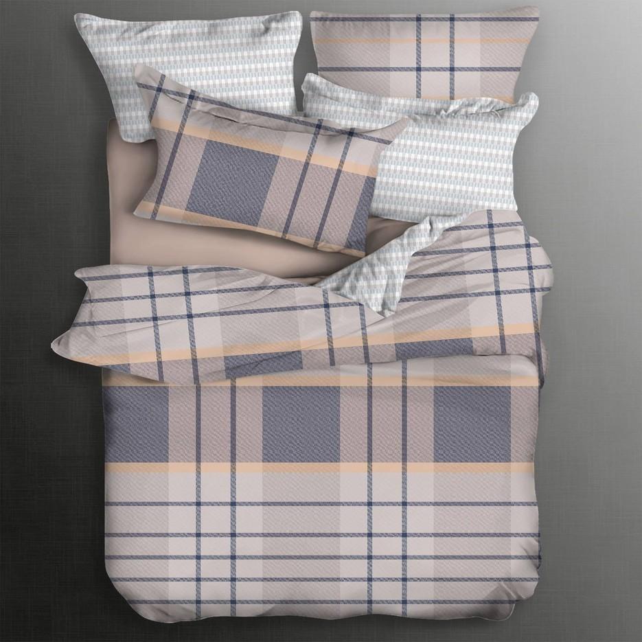 Long-staple Cotton Bedding Set Plaid Patterns
