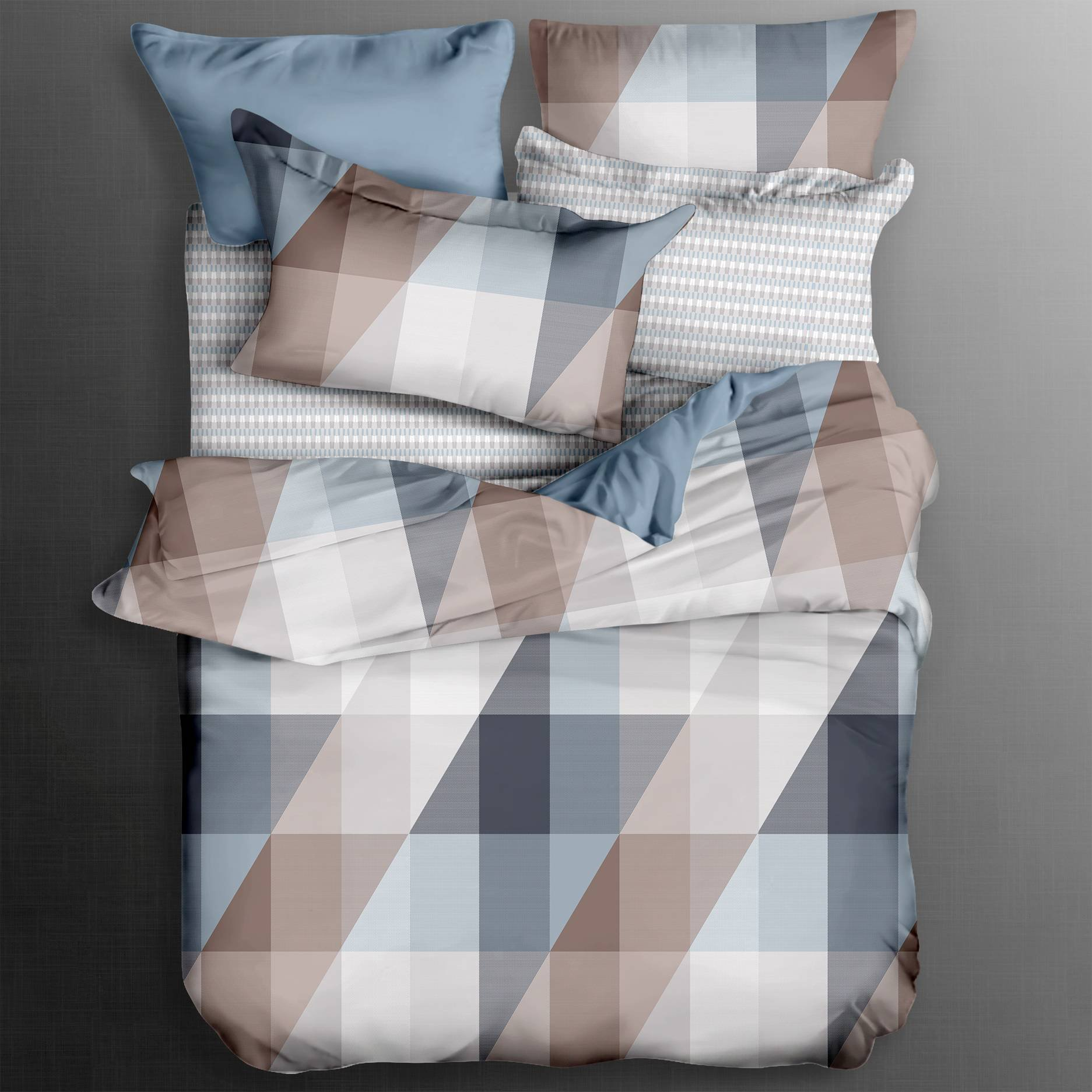 300TC Cotton Aesthetic Printed Duvet Cover Set