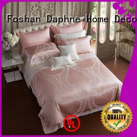 cotton stunning Jacquard Bedding Set elegant Daphne Brand company