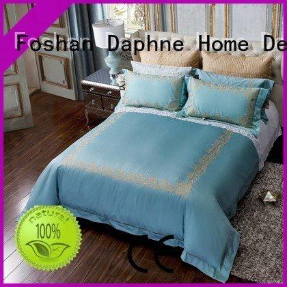 Custom style Solid Color Bedding set linen bedding sets