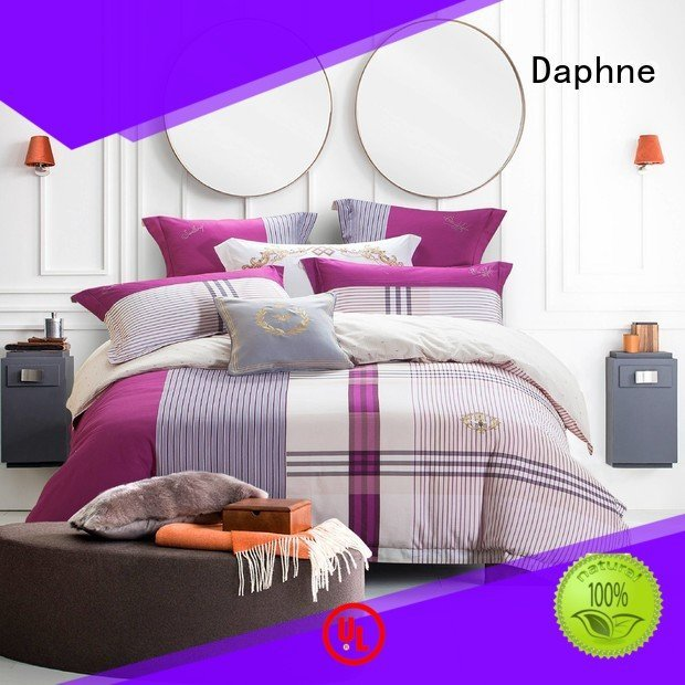 100 cotton bedding sets design quality OEM Cotton Bedding Sets Daphne