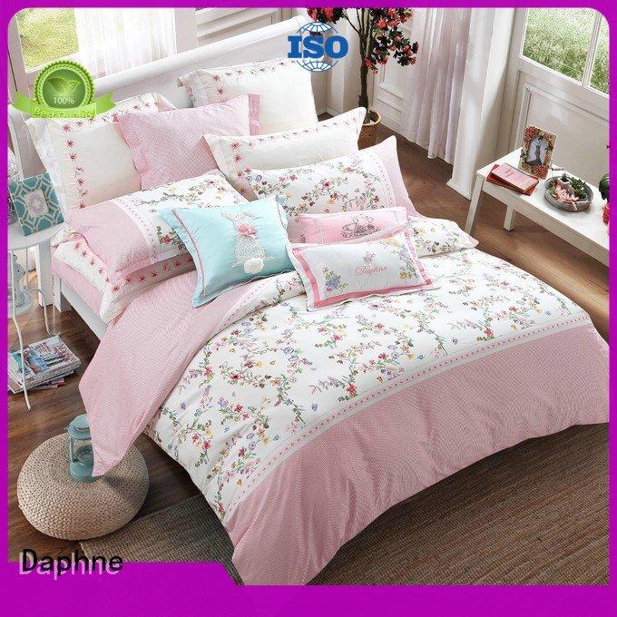 soft quality 100 cotton bedding sets Daphne