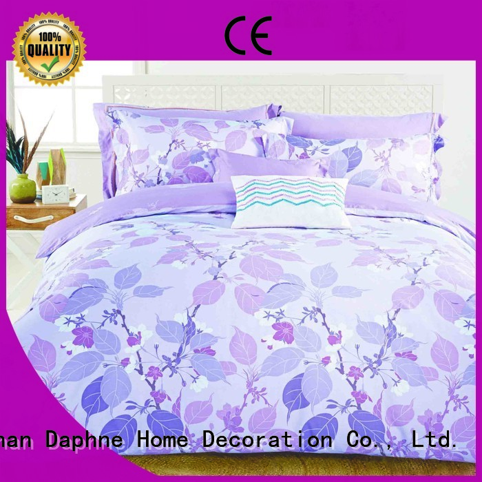 Daphne high Cotton Bedding Sets embroidery floral