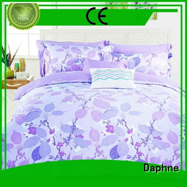 Hot 100 cotton bedding sets blossom print adorable Daphne Brand