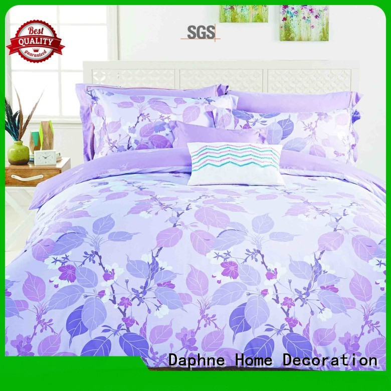 peony printed fashionable 100 cotton bedding sets Daphne