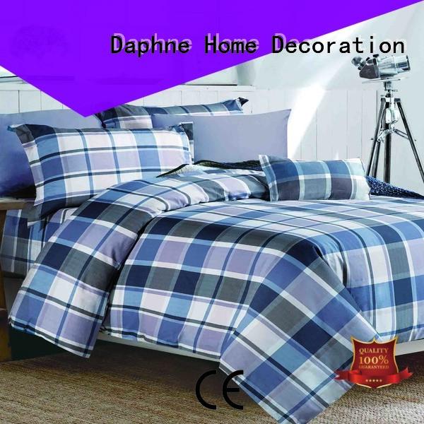 Daphne cotton Cotton Bedding Sets bedroom plaid
