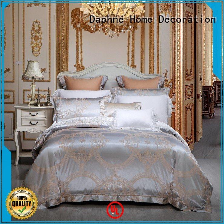 Daphne Brand sheet bamboo Jacquard Bedding Set jacquard bedroom