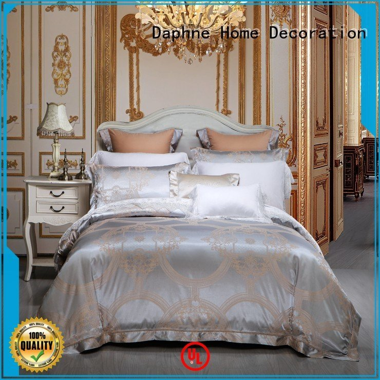 Daphne Brand sheet bamboo Jacquard Bedding Set jacquard bedroom